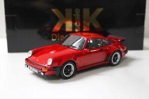 1:18 KK-Scale Porsche 911 (930) Turbo 3.0 Coupe red 1976