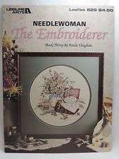 Paula Vaughan The Embroiderer Cross Stitch Pattern Leaflet 229 Book 30