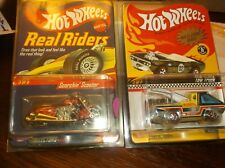 HOT WHEELS REAL RIDER SCORCHIN SCOOTER & NEO CLASSICS TOW TRUCK