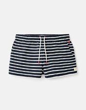 Joules Womens Elle Jersey Stripe Shorts - NAVY CREAM STRIPE