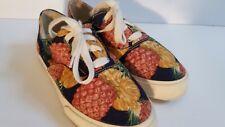 Vintage NATURALIZER Pineapple Canvas Tennis Shoes 6.5