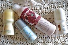 AVON bundle Retired deodorant: Hair Minimizing, Light 'N Lush, Ultra Even+lotion