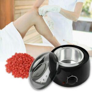 Wachswärmer Wachsgerät Set Wachs Erhitzer+ 400g Wachs Bohnen Haarentfernung Wax