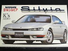 1/24 Japan Fujimi Nissan JDM S14 Silvia K's Aero Plastic Model Kit