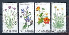 Postfrische Briefmarken aus Asien mit Pflanzen-Motiv