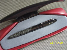 Sheaffer Intrigue Fountain Pen#614 Silken Bark 14K Gold Fine NIB White Dot