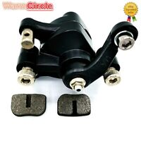 Left Disc Brake Caliper w/FREE Brake Pads For Pocket Bike Dirt ATV Goped Scooter