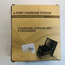 4-Port USB Charger Station Charging Dock Stand Organizer NEW IN BOX