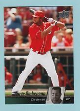 CHRIS DICKERSON  2010 UPPER DECK   # 145   OUTFIELD   CINCINNATI REDS   BASEBALL