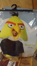 Brand New Never Opened Angry Birds YELLOW Bird Mask for Adults