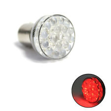 1x Bright Red/White 24 LED BAY15D 380 1157 P21 5w 12v Stop Tail Bike Light Bulb