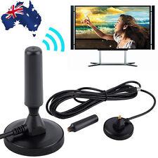 New Indoor Gain 30dBi Digital DVB-T/FM Freeview Aerial Antenna PC for TV HDTV K#