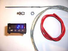 RSR Abgastemperatur Anzeige SET + ALARM BLAU EGT  16V G60 VR6 Turbo 1,8T C20LET