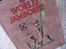 More details for boy scout book  - world jamboree 1929 arrowe park birkenhead england