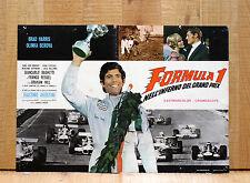 FORMULA 1 NELL'INFERNO DEL GRAND PRIX fotobusta poster Giacomo Agostini Driver