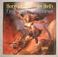 BORIS VALLEJO 2005 Calendar, VF, Good Girl,Femme Fatale, more in store