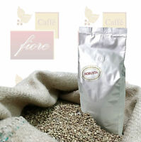 CAFFE VERDE CRUDO IN GRANI Qualità Robusta - Confezione da 1 Kg.
