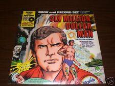 Six Million Dollar Man Book and Record Set NEW