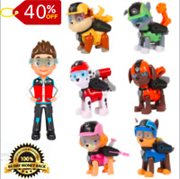 7 Pcs/set Paw Patrol Action Pack Pups Figure Dolls Mission Ryder Marshal Toys