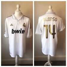 Real Madrid 2011/12 Home Shirt ALONSO #14 Size XL