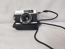 Vintage Konica Minolta C35 w/Konica Hexanon f=38 1:2.8 Lens and Case