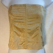 New Maidenform Gurtel? Beige Floral Shapewear Waist Corset? Firm Control Sz 8/XL