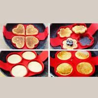 Nonstick Pancake Cooking Tool Egg Mold Maker Cheese Egg Cooker Pan Flip Egg Ring