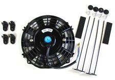 """7""""/19cm Universal Radiador Eléctrico Ventilador De Refrigeración Con Kit De Montaje (Delgado)"""