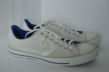 Converse Mens White Textile Low Trainers Size UK 9 EU 42.5