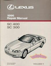 1994 Lexus Sales Catalog 94 ES300 LS400 GS300 GS400 SC300 LS ES GS SC 300 400