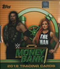 FINN BALOR 2019 MONEY IN THE BANK 4 BOX 1/2 CASE BREAK