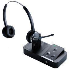 Jabra PRO 9450 Duo Wireless Headset 9450-69-707-105 W/ Touch Button Display Base