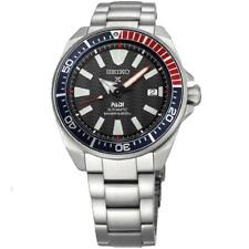 New Seiko SRPB99 Prospex Padi Samurai Stainless Steel Automatic 44mm Watch