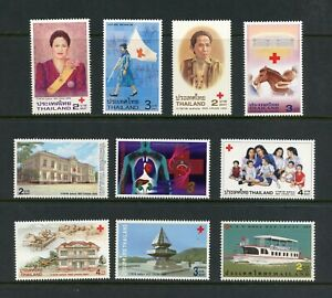 T556 Thailand Red Cross 10v. MNH