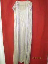Vintage purple/beige/pink Silk Nightgown shoulder ties