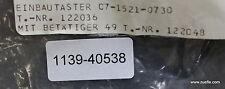 BARTEC Endlagenschalter 07-1521 EEX-geprüft 250VAC 5A max. 1250VA 250VDC 0,25A m