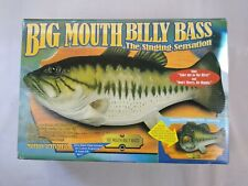 Vintage Big Mouth Billy Bass Gemmy The Singing Sensation Fish E3