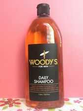 ⭐️⭐️⭐️⭐️⭐️ Woody's For Men Daily Shampoo For Normal to Oily Hair & Scalp 33.8oz