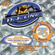 DJ Line Volume 25 [1996 CANADA 2xCD] EURO HOUSE / Emjay / Jaade / Roxxy / Samira