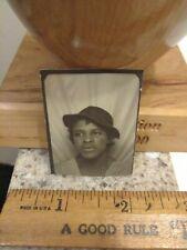 African american female photobooth photo