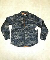 Old Navy Lightweight Puffer Jacket Coat Water Resistant Camo New Size S SMALL