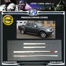 FITS TO NISSAN NAVARA D40 WINDOW TRIM COVERS 5 YEAR GUARANTEE 2005-2010 OFFER