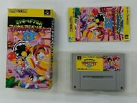 MICKEY MAGICAL ADVENTURE 3   Nintendo Super Famicom with box  SFC  Japan USED