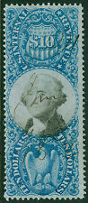 USA : 1871. Scott #R128 Beautiful, Fresh & Choice stamp. PSAG Cert. Catalog $230