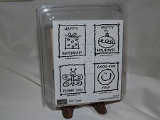 Stampin' Up! Kid Cards Stamp Set - New Unmounted