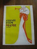Collectible Broadway Musical Program 1967 Mame Celeste Holm Cover Art Berta VGC