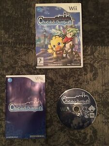 Nintendo Wii - Final Fantasy Fables Chocobos Dungeon + Fast Free Post