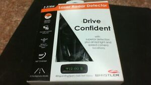 Whistler Z-31RW Laser Radar Detector 360 Degree Coverage