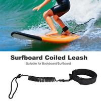 Surfboard Leash Stand UP Surfing Leash Leg Rope Paddle Board Ankle Surf 5mm PU