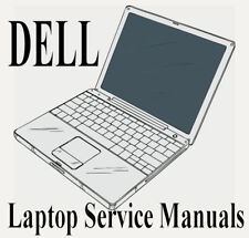 ☆ DELL LAPTOP SERVICE REPAIR MANUAL DVD DISC FOR WINDOWS ☆